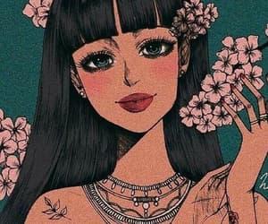 girl illustration image
