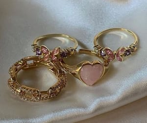 aesthetic, jewerly, and rings image
