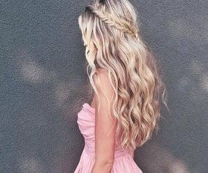 beautiful, braid, and girl image