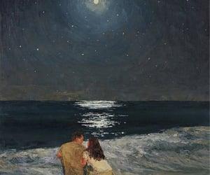 art, lové, and couple image