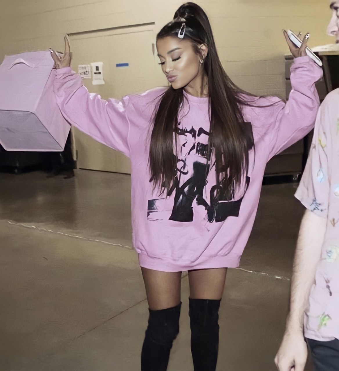 aesthetic, ariana, and hq image