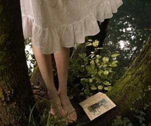 aesthetic, book, and dress image