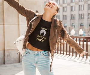 fashion, funny t shirts, and fall looks image