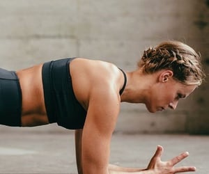 body, exercises, and plank image
