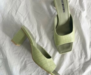 beige, fashion, and green image