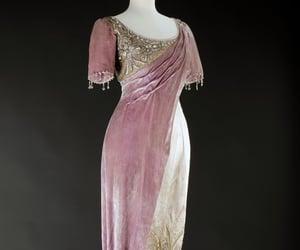 dress, pink, and elegent image