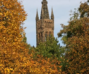 Fall at Glasgow University - Scotland