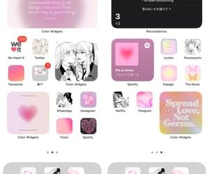 anime, aura, and lilac image