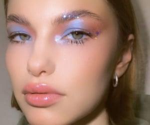 alternative, eyeliner, and face image
