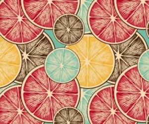 background, orange, and pattern image