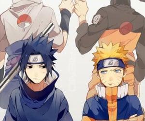 sasuke uchiha, team 7, and naruto uzumaki image
