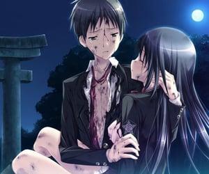 anime, Relationship, and visual novel image