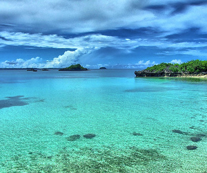 beach, paradise, and Philippines image