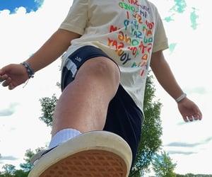 aesthetic, backyard, and shoes image
