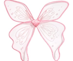 fairy wings, pink, and sparkly image