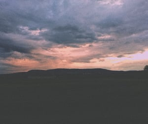 beautiful, cloudy, and big sky image