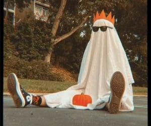 costume, fantasma, and pumpkin image