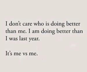 Me vs me