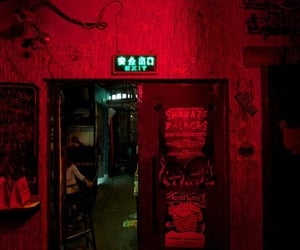catchy colors, dark, and Nighthawks image