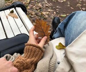 autumn couple aesthetic