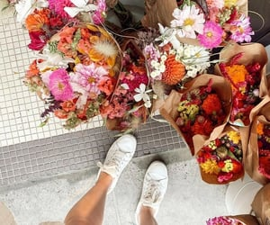 beauty, lifestyle, and bouquet image