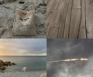 beach, beige, and Prada image