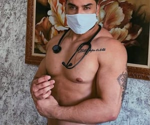doctor, sexy, and shirtless image
