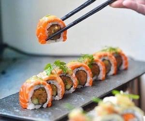 sushi, amazing, and tasty image