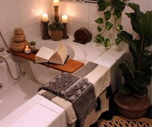 bath, manifesting, and bathroom image