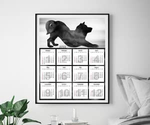 etsy, christmas gift, and office calendar image