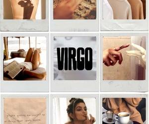astrology, horoscope, and virgo moon image