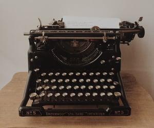 grunge, tumblr, and typewriter image