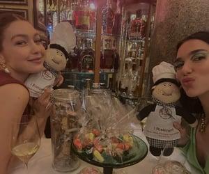 Dua Lipa and Gigi Hadid on @dualipa Instagram