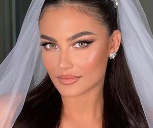 bride, girl, and makeup image