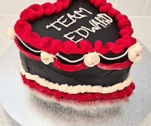 birthday, black, and Cake Decorating image