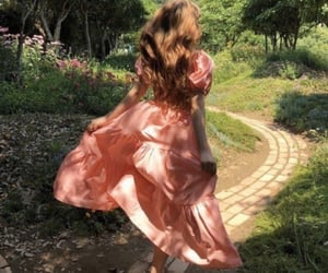 aesthetic, dress, and fantasy image