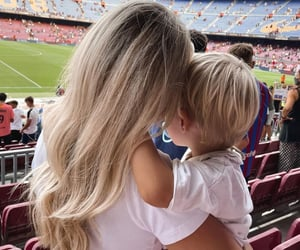 child, famille, and soccer image