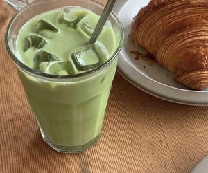 food, croissant, and photography image