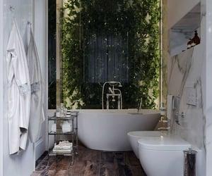 aesthetic, bathroom, and bathtub image