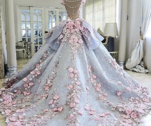 bridal gown, luxury design, and gown design image