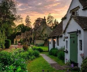 beautiful, cottage, and United Kingdom image