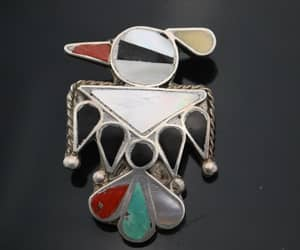 etsy, southwestern, and brooch pendant image