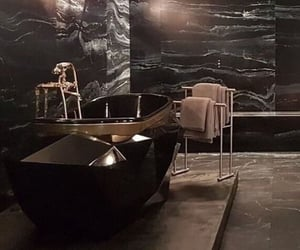 aesthetic, bathroom interior, and decoration image