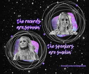 country music, fan edit, and purple image