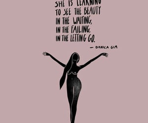 beauty, letting go, and waiting image