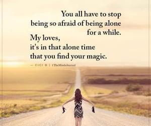 afraid, love, and alone image