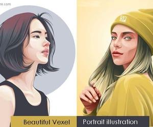 art, vector art, and digital art image