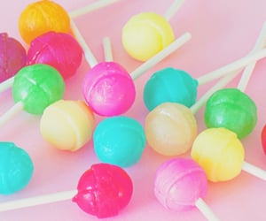candy, food, and lollipop image