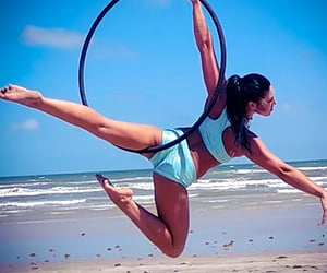 pole dance, Texas, and circus arts image