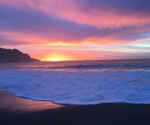 aesthetic, beach, and sea image